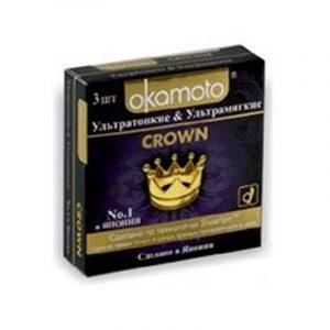 Презервативы Okamoto Crown №3