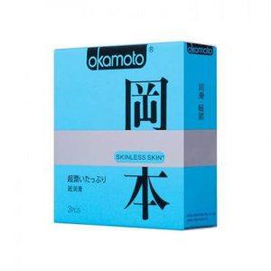 Презерватив Okamoto Skinless Skin Superlubricative №3