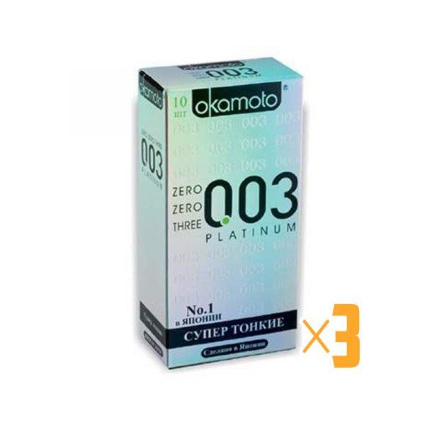Презерватив Okamoto 003 Platinum №3