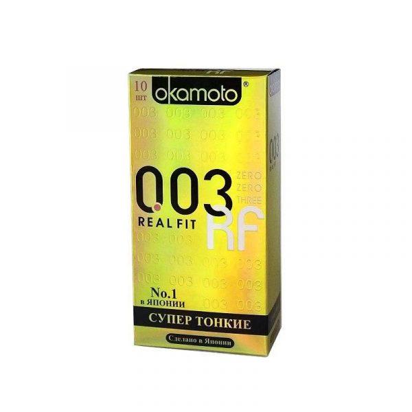 Презервативы Okamoto 003 RealFit 12 шт.