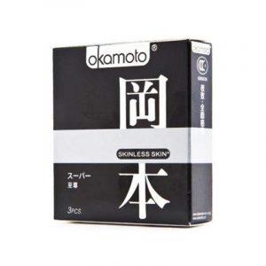 Презервативы Okamoto Skinless Skin Super №3