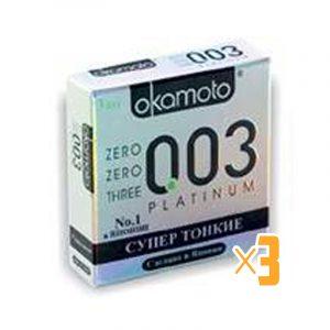 Презерватив Okamoto 003 RealFit №3 3 шт.