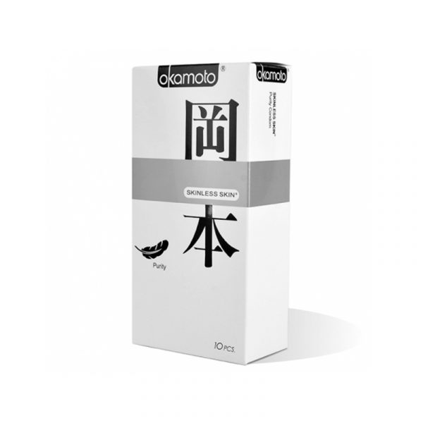 Презервативы Okamoto Skinless Skin Purity № 10